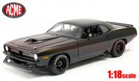 ACME 1970 プリムス バラクーダ ストリートカー ブラック 1:18<img class='new_mark_img2' src='//img.shop-pro.jp/img/new/icons1.gif' style='border:none;display:inline;margin:0px;padding:0px;width:auto;' />