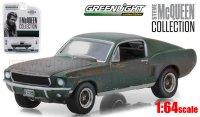 グリーンライト スティーブ・マっクイーン コレクション 1968 フォード マスタング GT ファストバック Unrestored 1:64