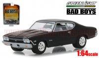 グリーンライト 1968 シボレー シェベル SS ブラック 映画「Bad Boys 2」 ブラック 1:64