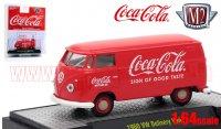 M2 コカ・コーラ #2 1960 フォルクスワーゲン デリバリーバン レッド 1:64