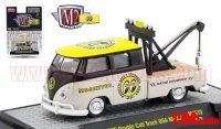 M2 ムーンアイズ 1960 VW ダブルキャブ トラック USAモデル トーイング 1:64