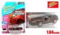 ジョニーライトニング 1999 フォード マスタング GT ブラック 1:64
