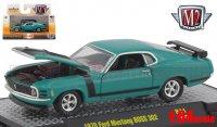 M2 DetroitMuscle #44 1970 フォード マスタング BOSS 302 グリーン 1:64