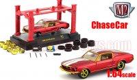 M2 Model-Kit #21 1968 フォード マスタング レッド 1:64 ChaceCar