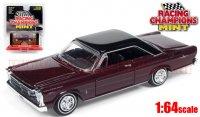 RACING CHAMPIONS MINT #2D 1965 フォード ギャラクシー 500 ダークパープル 1:64