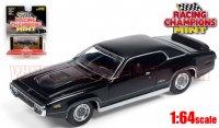 RACING CHAMPIONS MINT #2D 1971 プリムス GTX ブラック 1:64