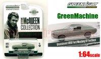 グリーンライト スティーブ・マっクイーン コレクション 1968 フォード マスタング GT ファストバック Unrestored 1:64 GreenMachine