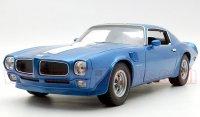 Welly 1972 ポンティアック ファイヤーバード トランザム ブルー 1:18