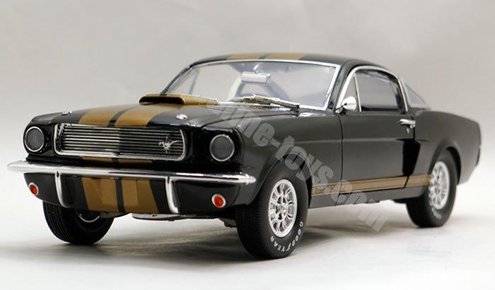 シェルビーコレクティブルズ 1966 シェルビー GT350H ブラック/ゴールド 1:18