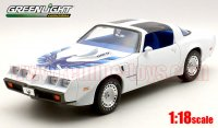 グリーンライト 1980 Trans Am 4.9ターボ White/Blue Bird  1:18  1of999