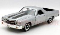 アーテル 1970 シボレー エルカミーノ SS454 Silver 1:18