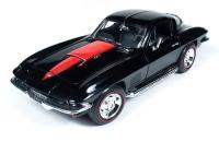 オートワールド 1967 シボレー コルベット 427 ブラック 1:18