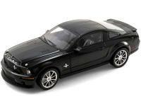 2008 シェルビー GT500 KR ブラックwithブラックストライプ 1:18