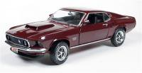 Auto World 1969 マスタング Fastback Boss429 Royal Maroon 1:18<img class='new_mark_img2' src='https://img.shop-pro.jp/img/new/icons1.gif' style='border:none;display:inline;margin:0px;padding:0px;width:auto;' />