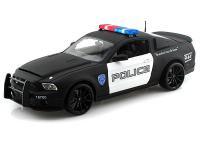 2012 シェルビー GT500 SUPER SNAKE POLICE レター 1:18