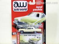 AutoWorld 1976 キャデラック クーペ デビル ライトイエロー 1:64