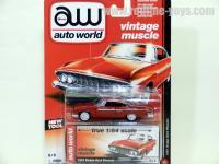 AutoWorld 1961 ダッジ ダート フェニックス レッド 1:64
