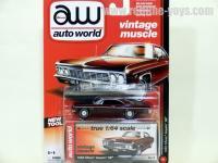 AutoWorld 1966 シェビー インパラ SS バーガンディ 1:64