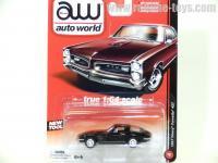 AutoWorld 1967 シボレー コルベット 427 ブラック 1:64