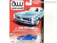 AutoWorld 2012 シボレー コルベット Z06 ブルー 1:64