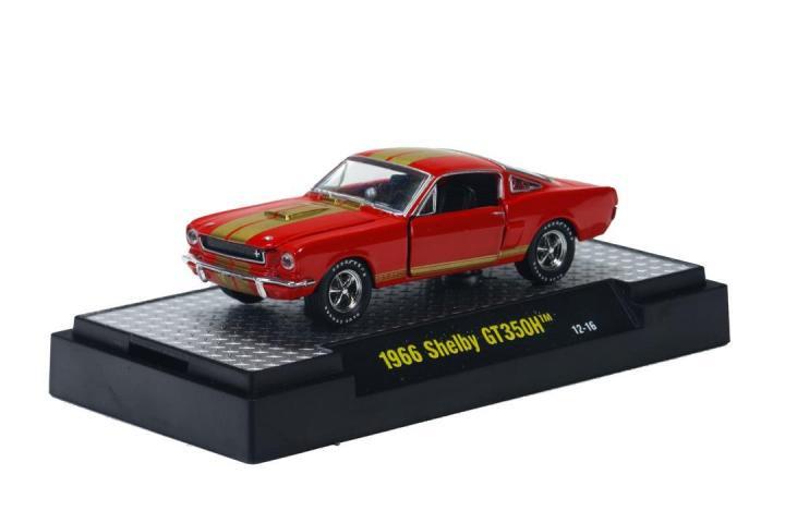 M2 Machines 1966 シェルビー GT350H  レッド 1:64