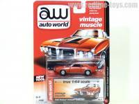 AutoWorld 1969 ポンティアック ファイヤーバード トランザム レッド 1:64