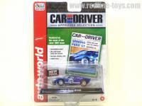 AutoWorld 1965 フォード GT40 ブルー 1:64