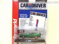 AutoWorld 1971 フォード マスタング マッハ1 グリーン 1:64