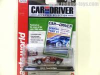 AutoWorld 1965 フォード GT40 レッド Chase Car 1:64