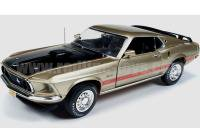 AutoWorld 1969 フォード マスタング MACH1 ゴールド 1:18<img class='new_mark_img2' src='https://img.shop-pro.jp/img/new/icons16.gif' style='border:none;display:inline;margin:0px;padding:0px;width:auto;' />