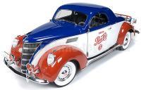 AutoWorld 1937 リンカーン ZEPHYR クーペ ペプシコーラ 1:18