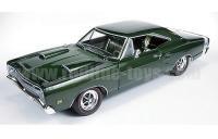 AutoWorld 1969 ダッジ スーパービー CAR&DRIVER カバーページ コレクション グリーン 1:18