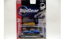 AutoWorld Top Gear 1967 フォード マスタング GT ブルー/ホワイトストライプ 1:64