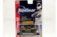 AutoWorld Top Gear 1971 フォード マスタング グリーン 1:64