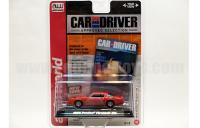 AutoWorld Car&Driver 1976 ポンティアック  トランザム T/A レッド 1:64