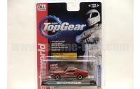 AutoWorld Top Gear 1967 フォード マスタング GT レッド/ホワイトストライプ 1:64