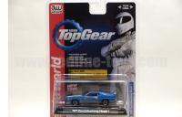 AutoWorld Top Gear 1971 フォード マスタング ブルー 1:64