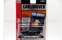 AutoWorld Car&Driver 1976 ポンティアック  トランザム T/A ブラック 1:64