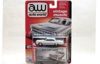 AutoWorld 1966 マーキュリー サイクロン ホワイト 1:64