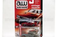 AutoWorld 1973 ダッジ チャレンジャー ラリー レッド 1:64