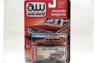 AutoWorld 1964 フォード カントリー スクワイヤ レッド 1:64