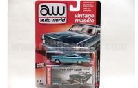 AutoWorld 1966 マーキュリー サイクロン グリーン 1:64