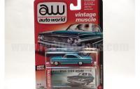 AutoWorld 1964 フォード ギャラクシー 500 Lブルー 1:64