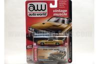 AutoWorld 1973 ダッジ チャレンジャー ラリー ゴールド 1:64