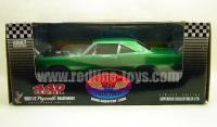 1969 1/2 プリムス ロードランナー 440 6BBL Green 1:18