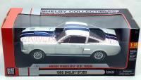 シェルビーコレクティブルズ 1966 シェルビーGT350 ホワイト/ブルー 1:18