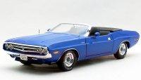 スーパーカーコレクティブルズ 1971 ダッジ チャレンジャー コンバーチブル ブルー 1:18