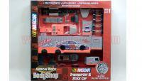 アーテル NASCAR ボディショップ Sterling MARLIN トランスポーター&ストックカー 1:64