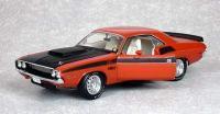 スーパーカーコレクティブルズ 1970 ダッジ チャレンジャー T/A BurntOrange 1:18