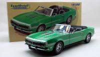 Lane/ExactDetail 1968 シボレー カマロ RS/SS コンバーチブル Green 1:18